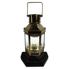 Solid Brass Boat Cabin Lantern by Bulpitt