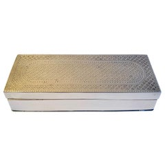 Solid Brass Box with Intricate Design