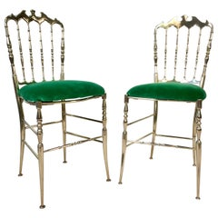 Solid Brass Chiavari Chairs 'Five'
