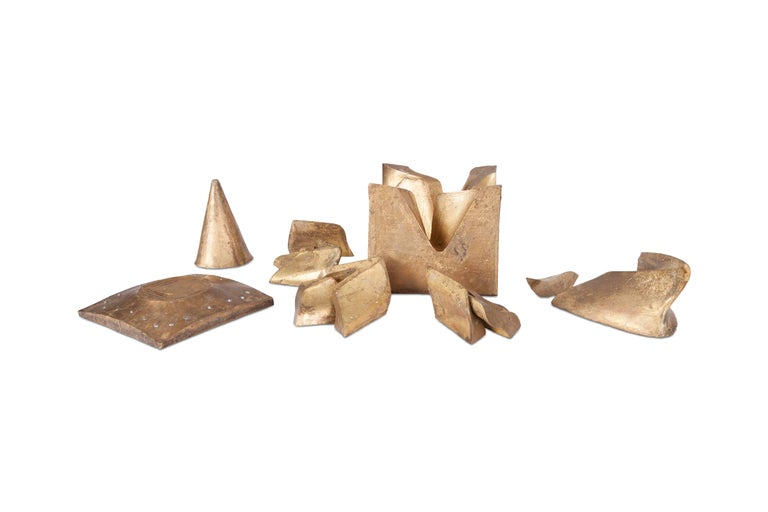 Solid Brass Cube Shaped Puzzle / Artwork For Sale 5