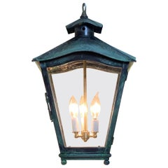Solid Brass Handcrafted Hanging Lantern