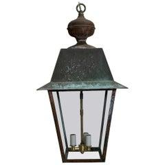 Solid Brass Hanging Lantern