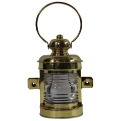 Solid Brass Ships Bow Light