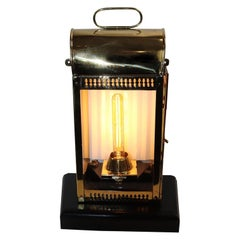 Solid Brass Ships Cabin Lantern