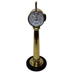 Solid Brass Ships Engine Order Telegraph