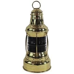 Solid Brass Ships Lantern