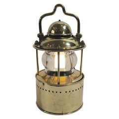 Solid Brass Ships Navigational Signal Lantern