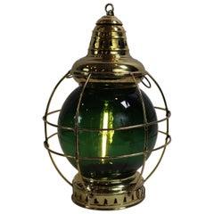 Solid Brass Ships Onion Lantern