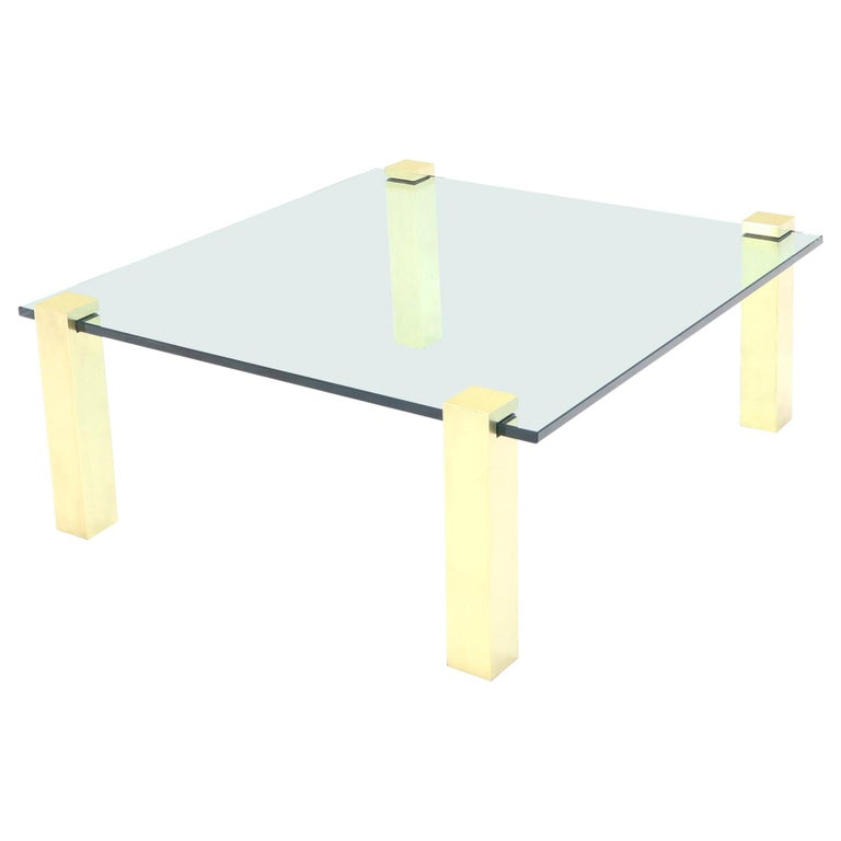 Brass Legs Coffee Table 81 For Sale On 1stdibs