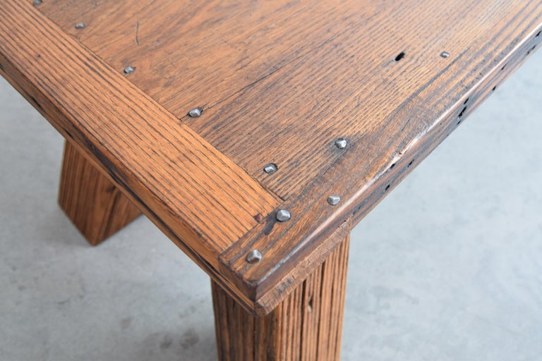 Solid Chestnut Coffee Table or Bench 3