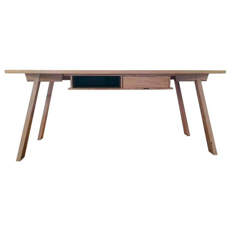 Solid Chestnut Dining Table For Sale