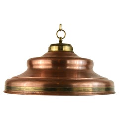 Solid Copper and Brass Pendant