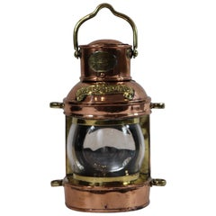 Solid Copper English Ships Lantern