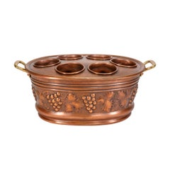 Solid Copper French Wine Cooler