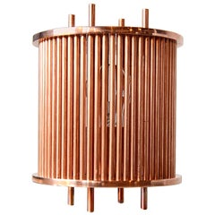 Solid Copper Table Lamp