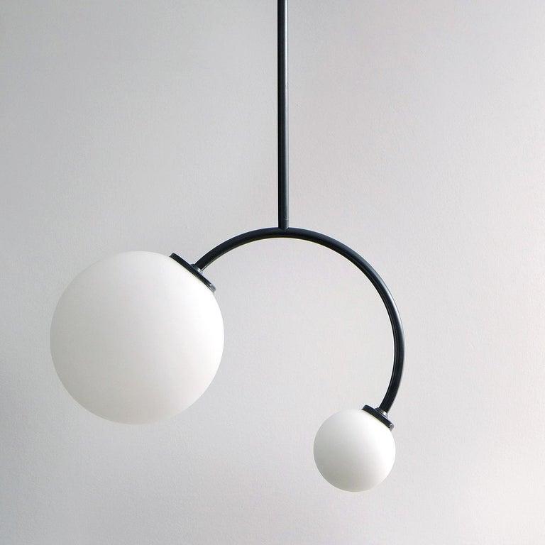 Solid Equilibrum Pendant Lamp by Olek Vojtek In New Condition For Sale In Collonge Bellerive, Geneve, CH
