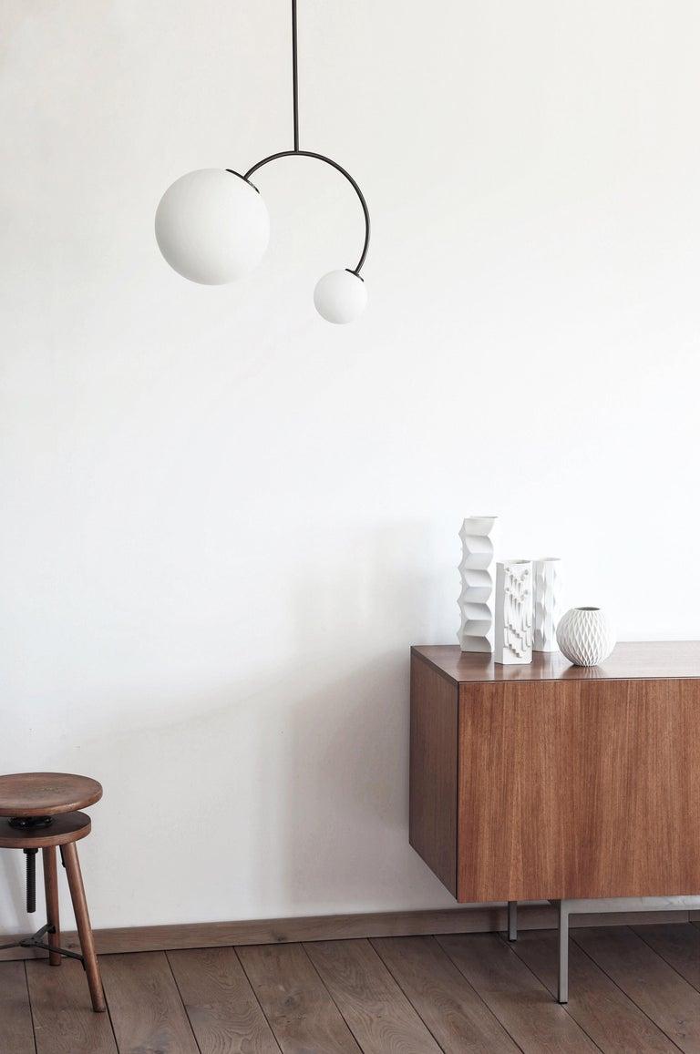 Solid Equilibrum Pendant Lamp by Olek Vojtek For Sale 2