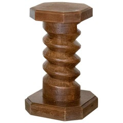 Solid French Twisted Wood Table