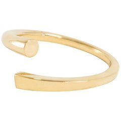 Solid Gold Flow Ring from Square to Circle