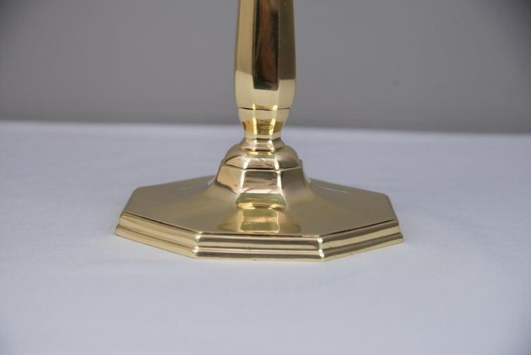 Solid Jugendstil Table Lamp, circa 1908 For Sale 5
