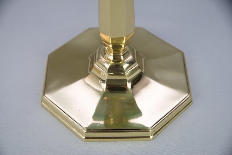 Solid Jugendstil Table Lamp, circa 1908 For Sale 6