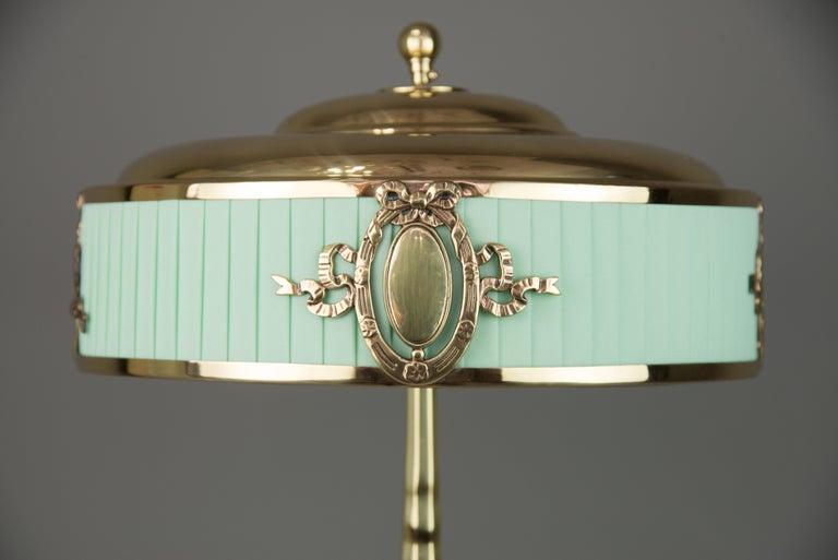 Solid Jugendstil Table Lamp, circa 1908 For Sale 1