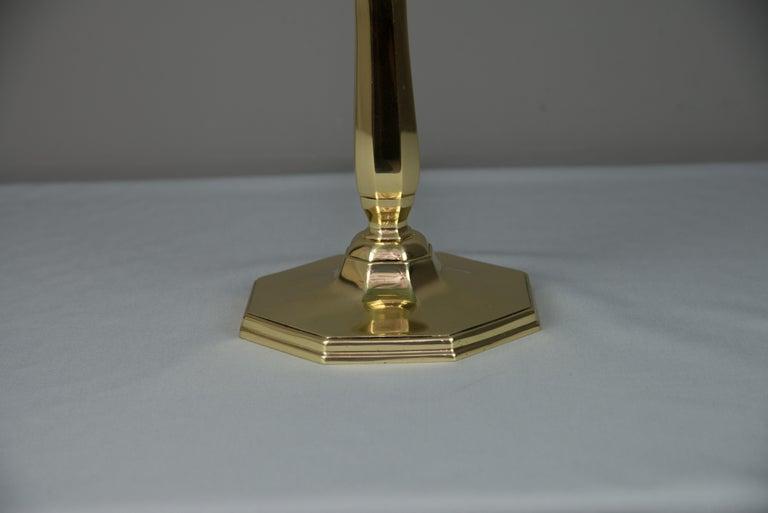 Solid Jugendstil Table Lamp, circa 1908 For Sale 2