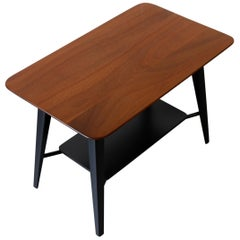 Solid Mahogany Coffee or Lamp Table by Vanson, circa 1955