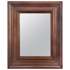Solid Mahogany Framed Mirror
