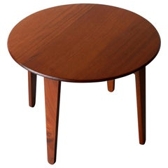 Solid Mahogany Lamp / Coffee Table by Gordon Russell, circa 1950
