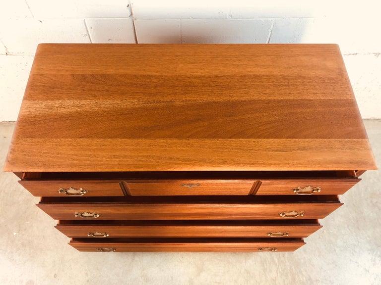 American Solid Mahogany Wood Dresser For Sale