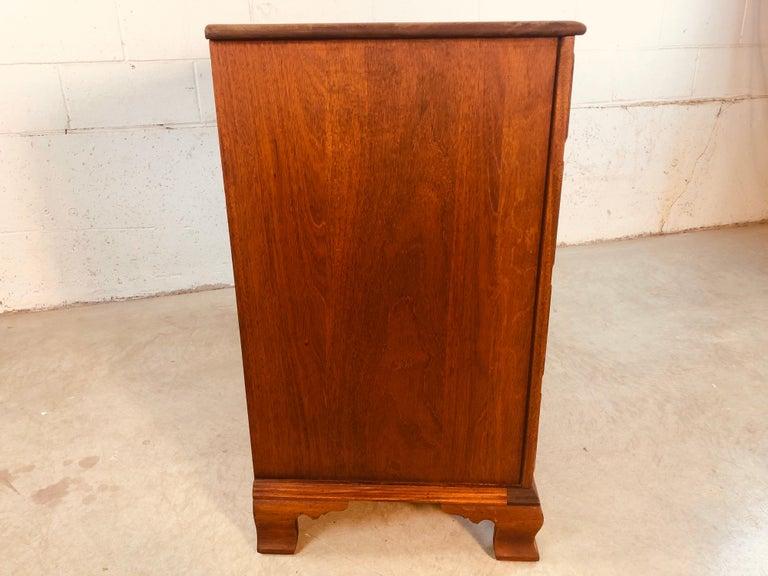 Solid Mahogany Wood Dresser For Sale 3