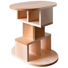 Solid Maple Double Pyramid Side Table