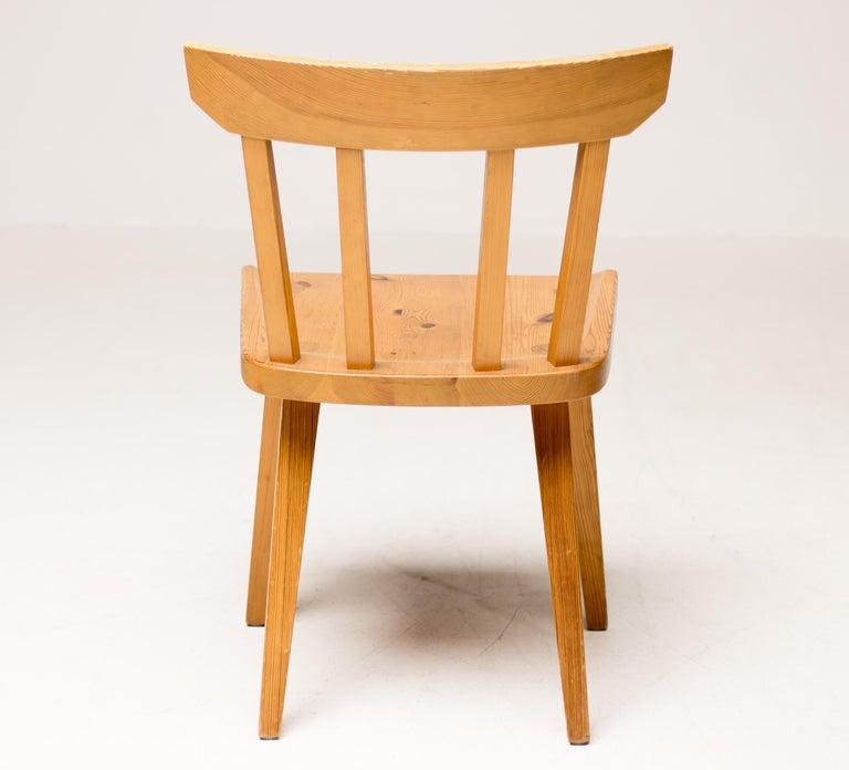 Mid-20th Century Solid Pine Dining Set by Roland Wilhemsson for Karl Anderson & Soner