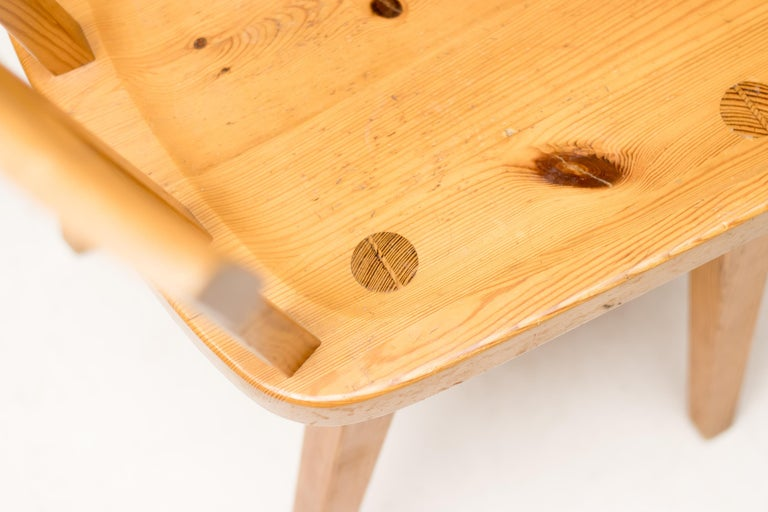Solid Pine Dining Set by Roland Wilhemsson for Karl Anderson & Soner 1