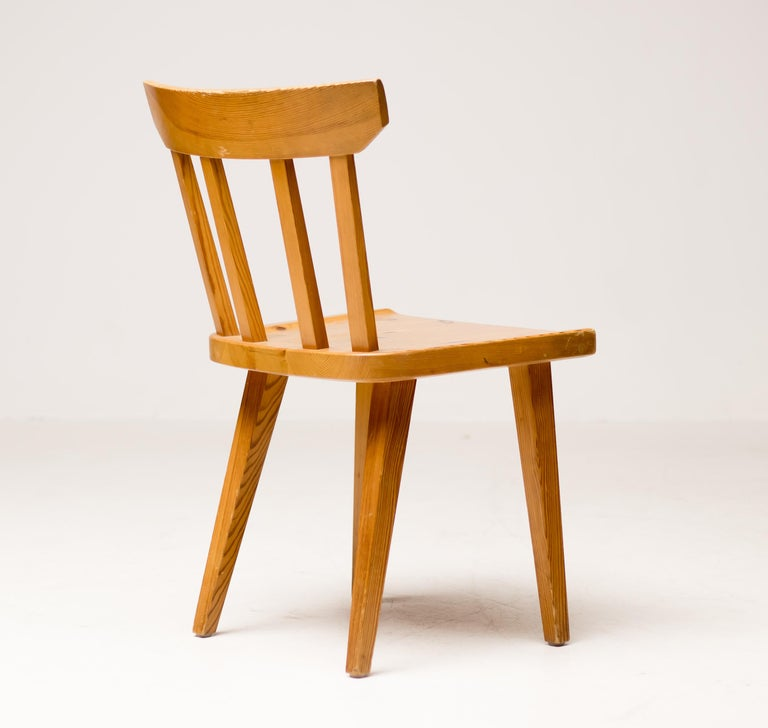 Solid Pine Dining Set by Roland Wilhemsson for Karl Anderson & Soner 2