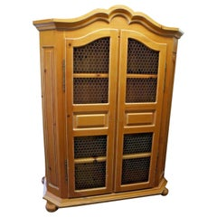 Solid Pine Furniture Wardrobe Armoire Cabinet Dresser by Garcia Imports Designer