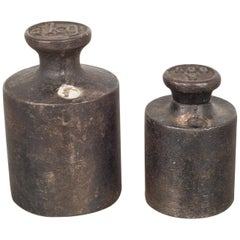 Solid Steel Weights, circa 1880-1920