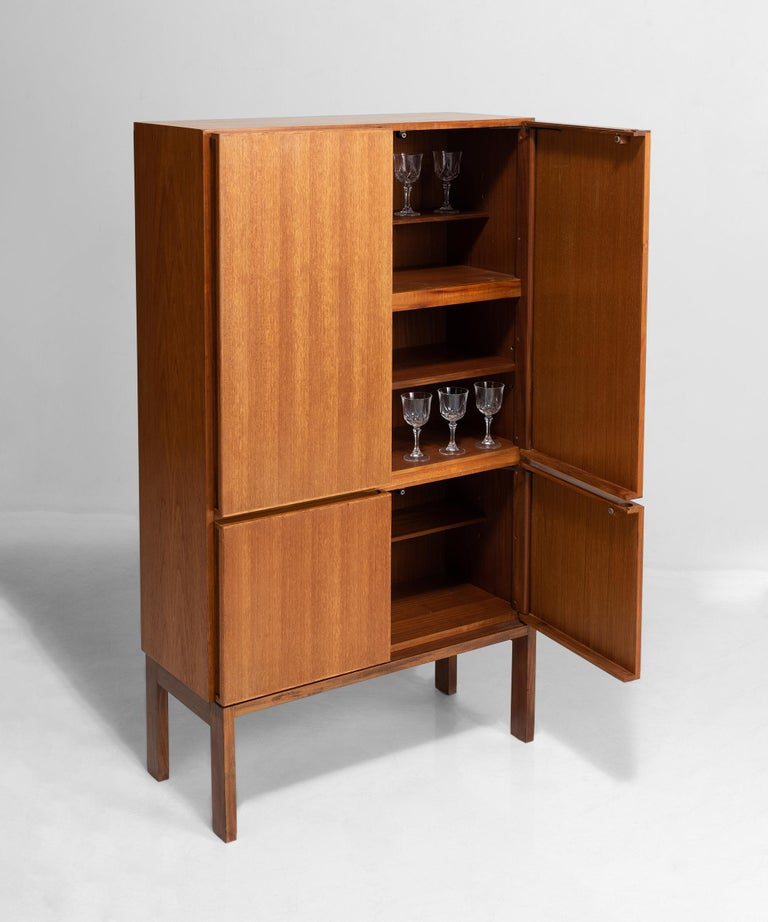 English Solid Teak Cabinet by Robert Heritage for Gordon Russell For Sale