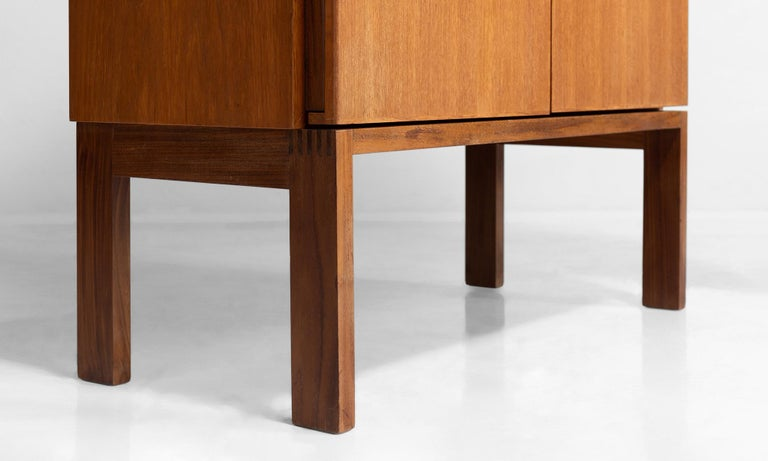 Solid Teak Cabinet by Robert Heritage for Gordon Russell For Sale 1