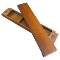 Solid Teak Jewelry or Trinket Box by Jens Quistgaard for Dansk