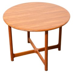 Solid Teak Occasional Table by Arne Halvorsen
