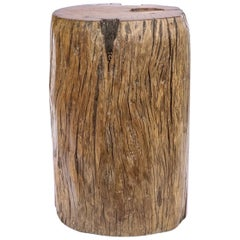 Solid Teak Organic Trunk Section