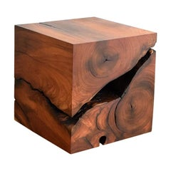 "Solid Wood ""Cube"""
