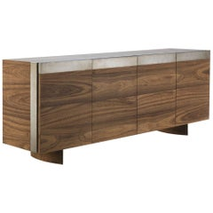 Solid Wood Sideboard Handcrafted in Italy