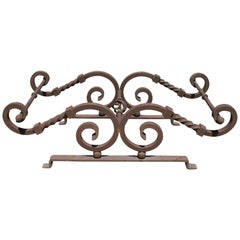 Solid Wrought Iron Coffee Table Base