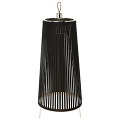 Solis 24 Freestanding Lamp in Black by Pablo Designs