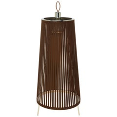 Solis 24 Freestanding Lamp in Brown by Pablo Designs