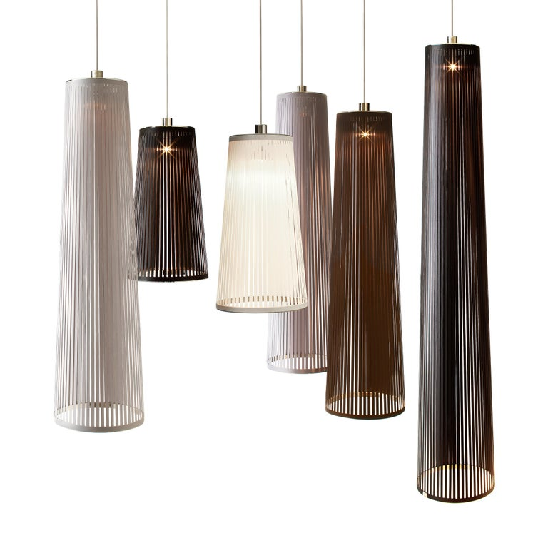 American Solis 24 Pendant Light in Brown by Pablo Designs For Sale