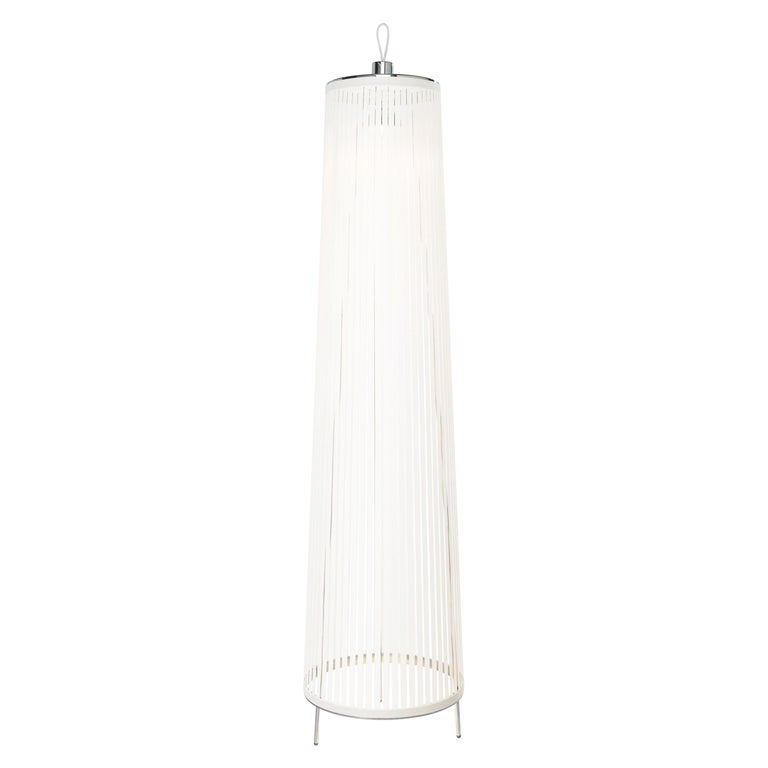 b23199579943 Solis 48 Freestanding Lamp in White by Pablo Designs For Sale at 1stdibs